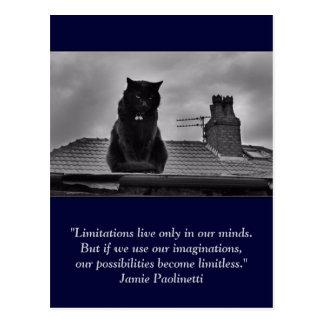 Carte postale inspirée : Imagination
