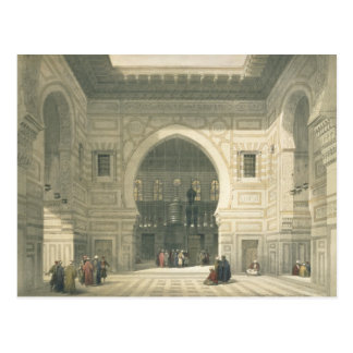 Carte Postale Intérieur de la mosquée du sultan Hasan, le Caire,