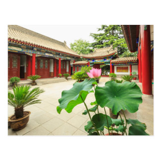 Carte Postale Intérieur de pagoda de la Chine