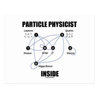 Carte Postale Intérieur de physicien de particules (modèle