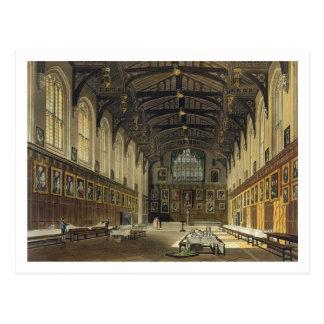 Carte Postale Intérieur du Hall de l'église du Christ,