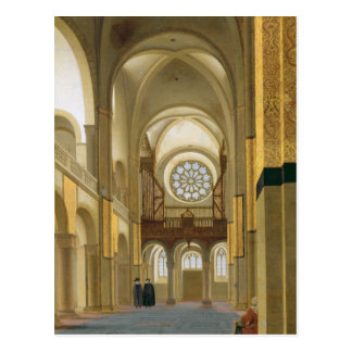 Carte Postale Intérieur du Marienkirche à Utrecht, 1638