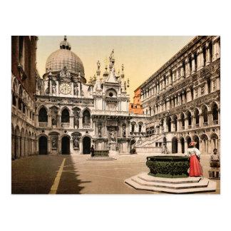 Carte Postale Intérieur du palais des doges, avec le St du géant