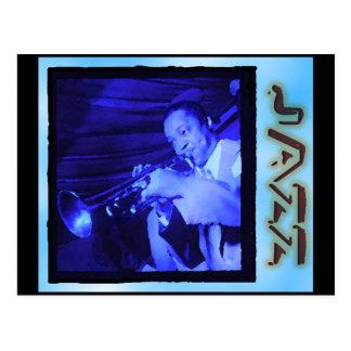 Carte Postale Intermèdes musicaux : Jazz vintage