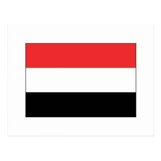 Carte Postale International de DRAPEAU du Yémen