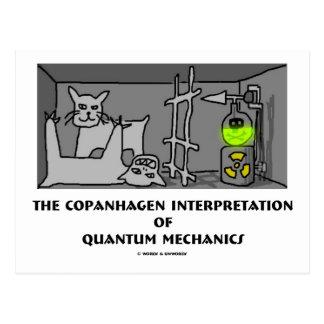Carte Postale Interprétation de Copanhagen de la mécanique