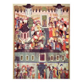 Carte Postale Intronisation de Suleyman le magnifique