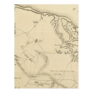 Carte Postale Investissement et attaque de York en Virginie 2