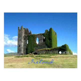 Carte postale irlandaise de château