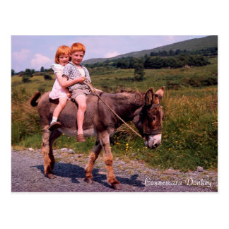 Carte postale irlandaise d'images