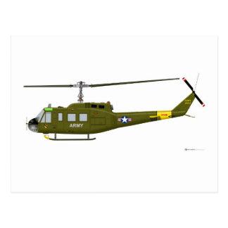 Carte Postale Iroquois de Bell UH-1D
