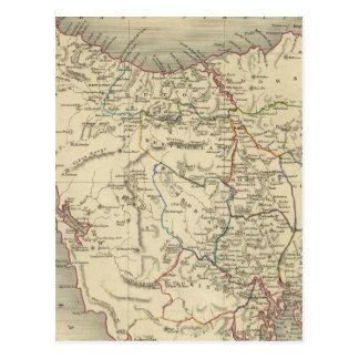 Carte Postale Island de Van Diemen's ou la Tasmanie