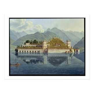 Carte Postale Isola Bella, lac Maggiore : les jardins en