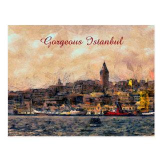 Carte Postale Istanbul magnifique