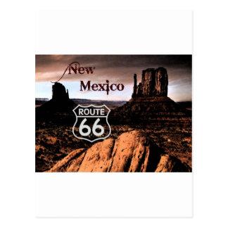 Carte Postale Itinéraire 66 Nouveau Mexique