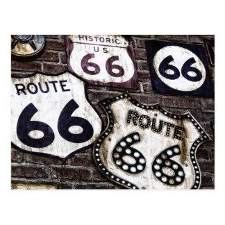 Carte Postale Itinéraire iconique 66