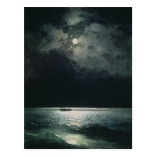 Carte Postale Ivan Aivazovsky- la Mer Noire la nuit