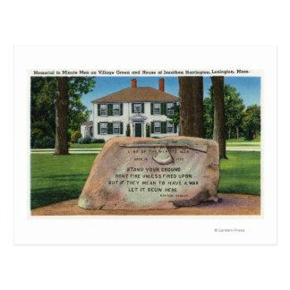Carte Postale J. Harrington House, Village Green