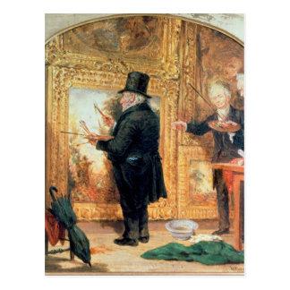 Carte Postale J.M.W.Turner à l'académie royale