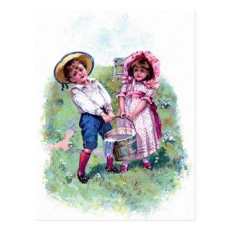 Carte postale - Jack et Jill