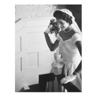 Carte Postale Jackie Kennedy, 1953
