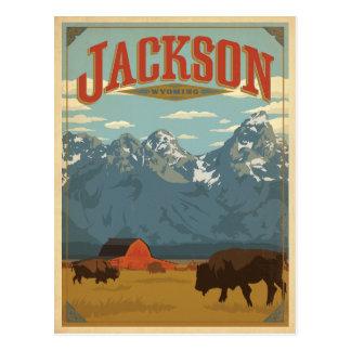 Carte Postale Jackson, WY