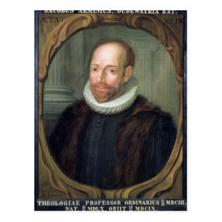 Carte Postale Jacobus Arminius, professeur de la théologie