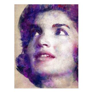 Carte Postale Jacqueline Kennedy Onassis