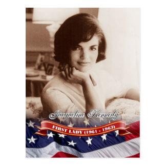 Carte Postale Jacqueline Kennedy, première Madame des États-Unis