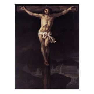 Carte Postale Jacques-Louis David le Christ sur la croix