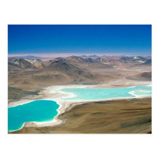 Carte Postale J'ai visité Laguna Verde en Bolivie !