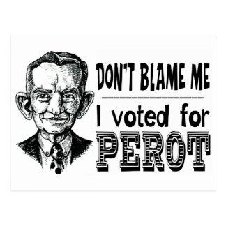 Carte Postale J'ai voté pour PEROT