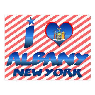 Carte Postale J'aime Albany, New York