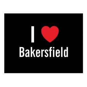 Carte Postale J'aime Bakersfield