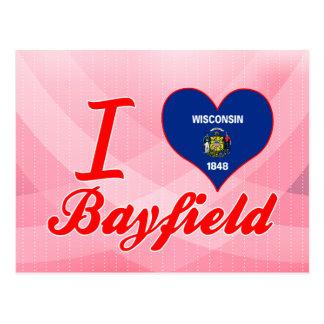 Carte Postale J'aime Bayfield, le Wisconsin
