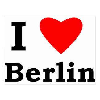 Carte Postale J'aime Berlin