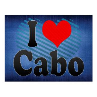 Carte Postale J'aime Cabo, Brésil. AMO O Cabo, Brésil d'Eu