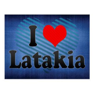 Carte Postale J'aime Lattaquié, République arabe syrienne