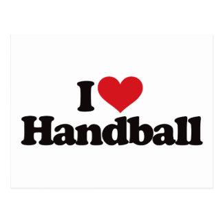 Carte Postale J'aime le handball