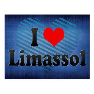 Carte Postale J'aime Limassol, Chypre