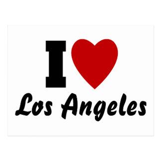 Carte Postale J'aime Los Angeles