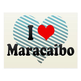 Carte Postale J'aime Maracaïbo, Venezuela