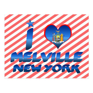 Carte Postale J'aime Melville, New York