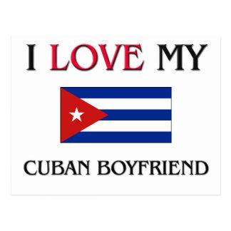 Carte Postale J'aime mon ami cubain
