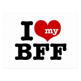 Carte Postale J'aime mon BFF