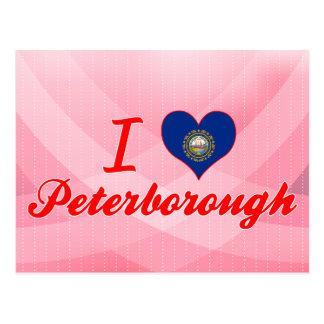 Carte Postale J'aime Peterborough, New Hampshire