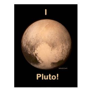 Carte Postale J'aime Pluton !