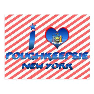 Carte Postale J'aime Poughkeepsie, New York