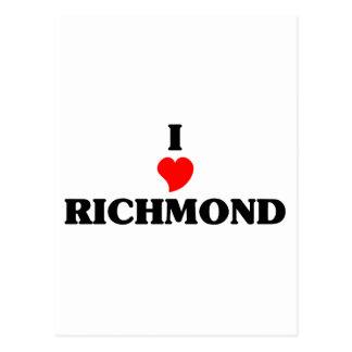 Carte Postale J'aime Richmond