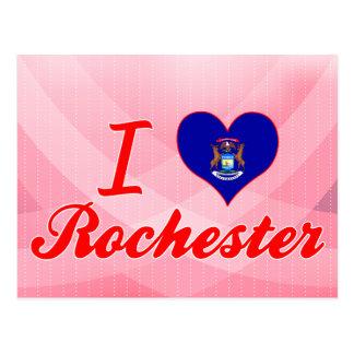 Carte Postale J'aime Rochester, Michigan